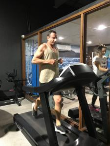 Nick Ray loves the Altitude Training rooms at Gold Coast gym Elevation Fitness.
