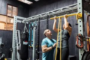 Burleigh Heads personal trainer Dean Wildbore